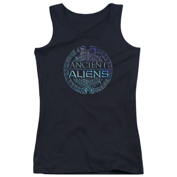 Ancient Aliens - Symbol Logo Juniors Tank Top - Special Holiday Gift