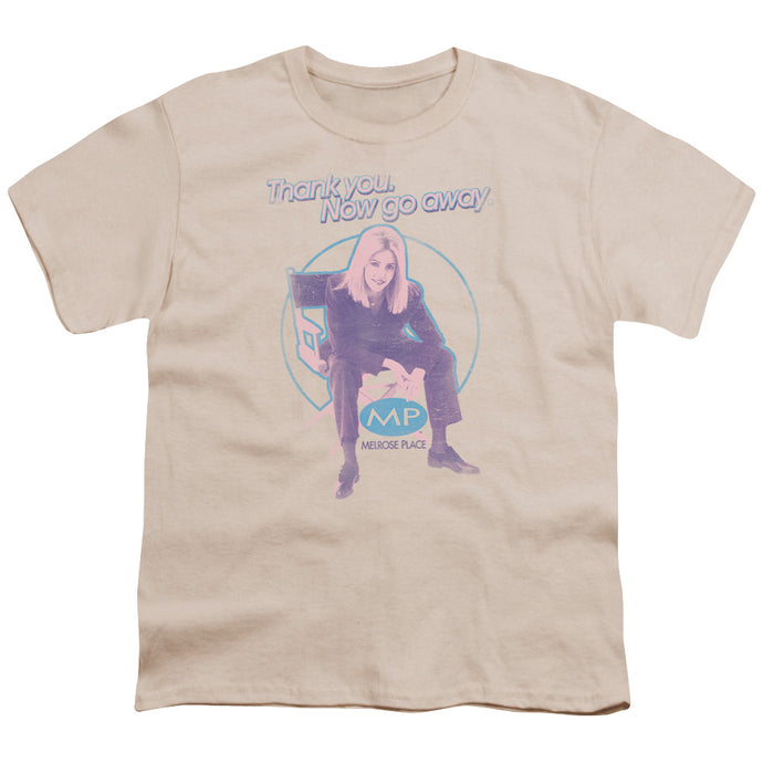 Melrose Place - Love Amanda Short Sleeve Youth 18/1 Tee - Special Holiday Gift