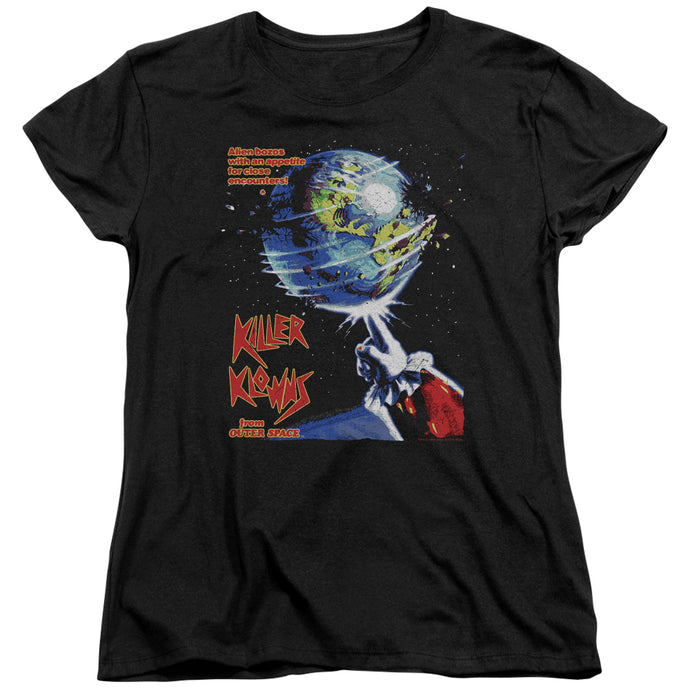 Killer Klowns From Outer Space - Invaders Short Sleeve Women's Tee - Special Holiday Gift