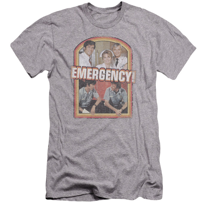 Emergency - Retro Cast Premium Canvas Adult Slim Fit 30/1 - Special Holiday Gift