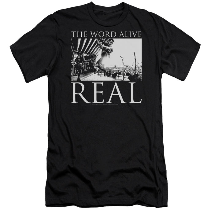The Word Alive - Live Shot Short Sleeve Adult 30/1 Tee - Special Holiday Gift