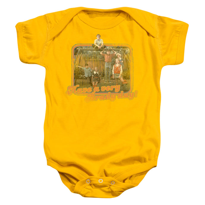 Brady Bunch - Have A Very Brady Day! Infant Snapsuit - Special Holiday Gift
