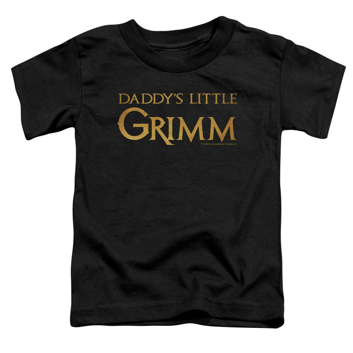 Grimm - Daddys Little Grimm Short Sleeve Toddler Tee - Special Holiday Gift