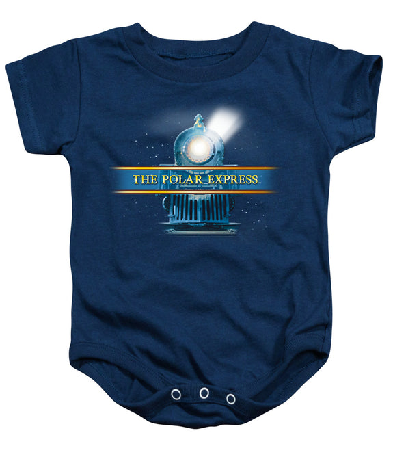 Polar Express - Train Logo Infant Snapsuit - Special Holiday Gift
