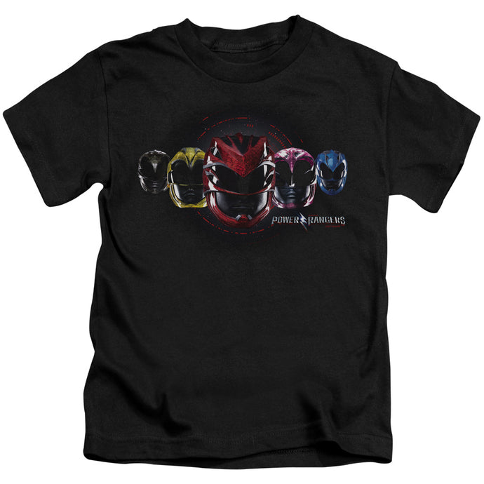 Power Rangers - Head Group Short Sleeve Juvenile 18/1 Tee - Special Holiday Gift