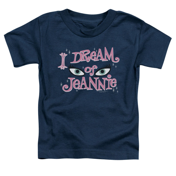 I Dream Of Jeannie - Eyes Short Sleeve Toddler Tee - Special Holiday Gift
