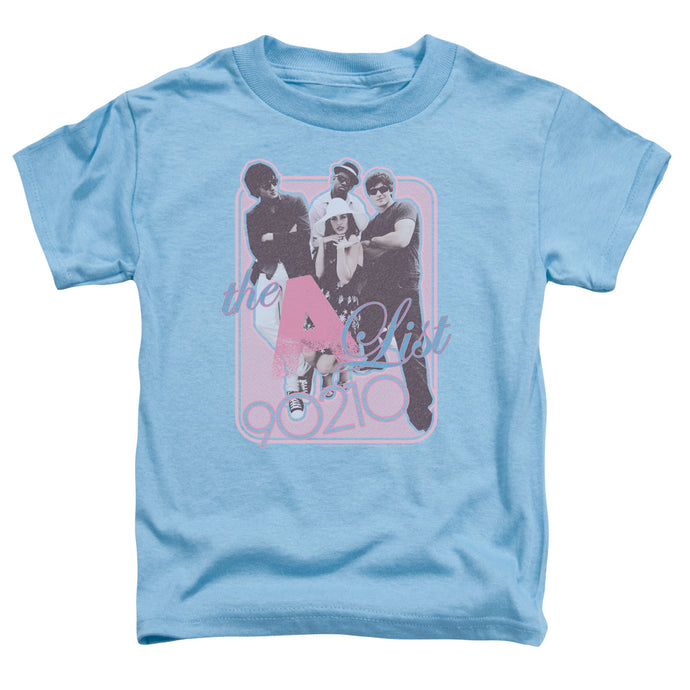 90210 - The A List Short Sleeve Toddler Tee - Special Holiday Gift