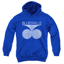 Bluesville - Bluesville Distress Youth Pull Over Hoodie - Special Holiday Gift