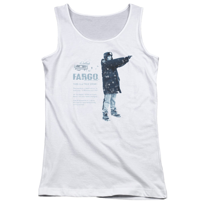 Fargo - This Is A True Story Juniors Tank Top - Special Holiday Gift