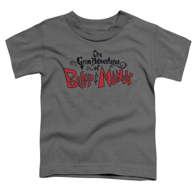 Grim Adventures Of Billy And Mandy - Grim  Logo Short Sleeve Toddler Tee - Special Holiday Gift