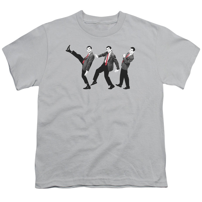 Mr Bean - Walk Like A Bean Short Sleeve Youth 18/1 Tee - Special Holiday Gift