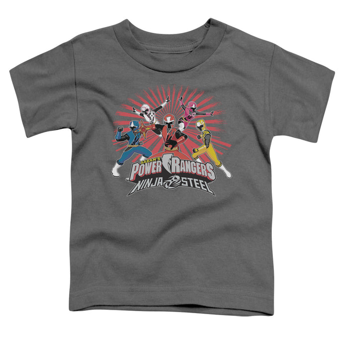 Power Rangers - Ninja Blast Short Sleeve Toddler Tee - Special Holiday Gift