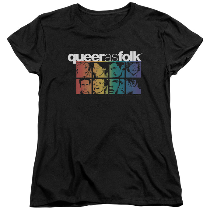 Queer As Folk - Cast Short Sleeve Women's Tee - Special Holiday Gift