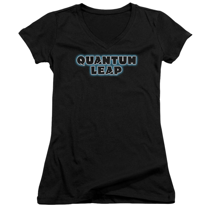 Quantum Leap - Logo Junior V Neck Tee - Special Holiday Gift