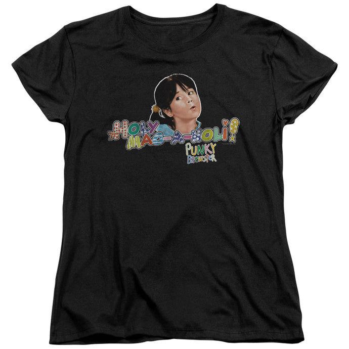 Punky Brewster - Holy Mac A Noli Short Sleeve Women's Tee - Special Holiday Gift