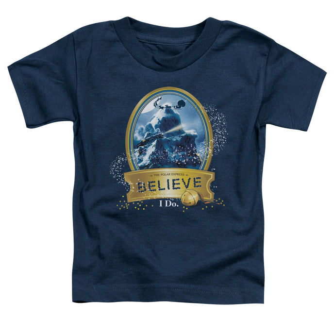Polar Express - True Believer Short Sleeve Toddler Tee - Special Holiday Gift