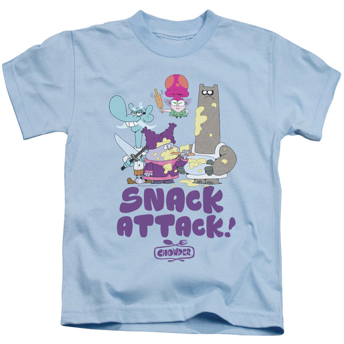 Chowder - Snack Attack Short Sleeve Juvenile 18/1 Tee - Special Holiday Gift