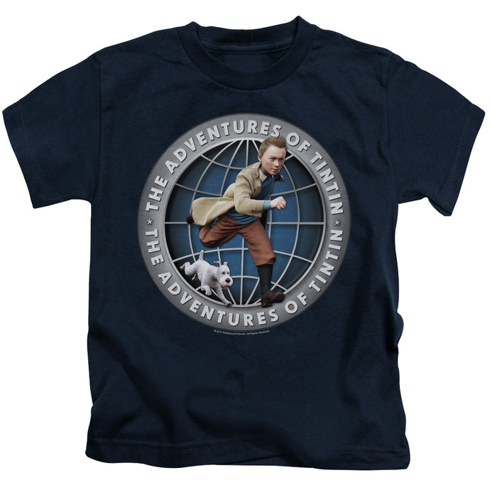 Tintin - Globe Short Sleeve Juvenile 18/1 Tee - Special Holiday Gift