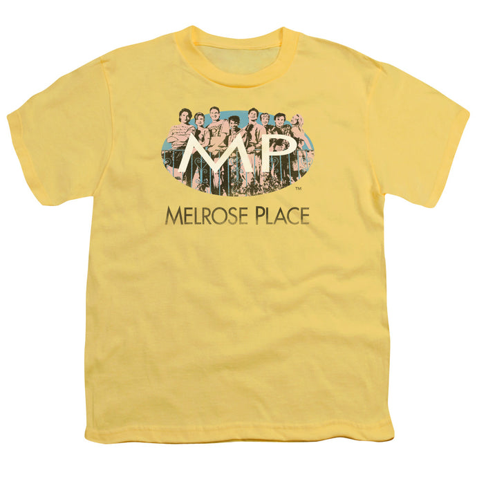 Melrose Place - Meet At The Place Short Sleeve Youth 18/1 Tee - Special Holiday Gift