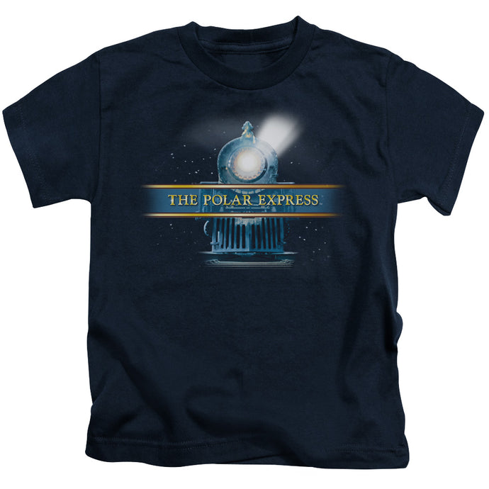 Polar Express - Train Logo Short Sleeve Juvenile 18/1 Tee - Special Holiday Gift