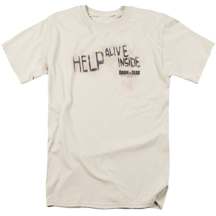 Dawn Of The Dead - Help Alive Inside Short Sleeve Adult 18/1 Tee - Special Holiday Gift