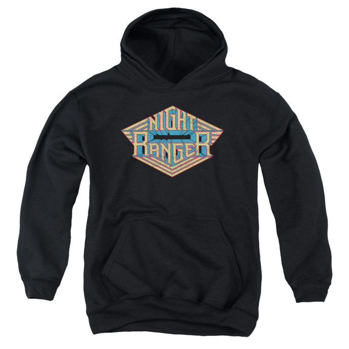 Night Ranger - Logo Youth Pull Over Hoodie - Special Holiday Gift