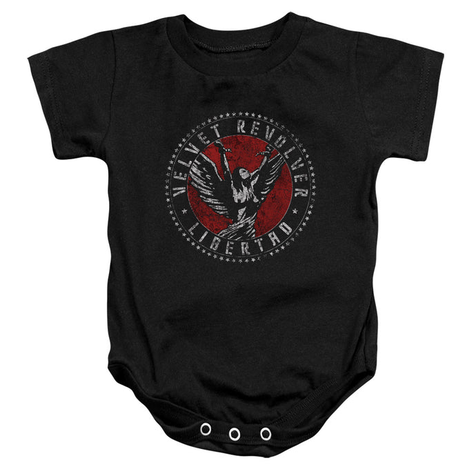 Velvet Revolver - Circle Logo Infant Snapsuit - Special Holiday Gift