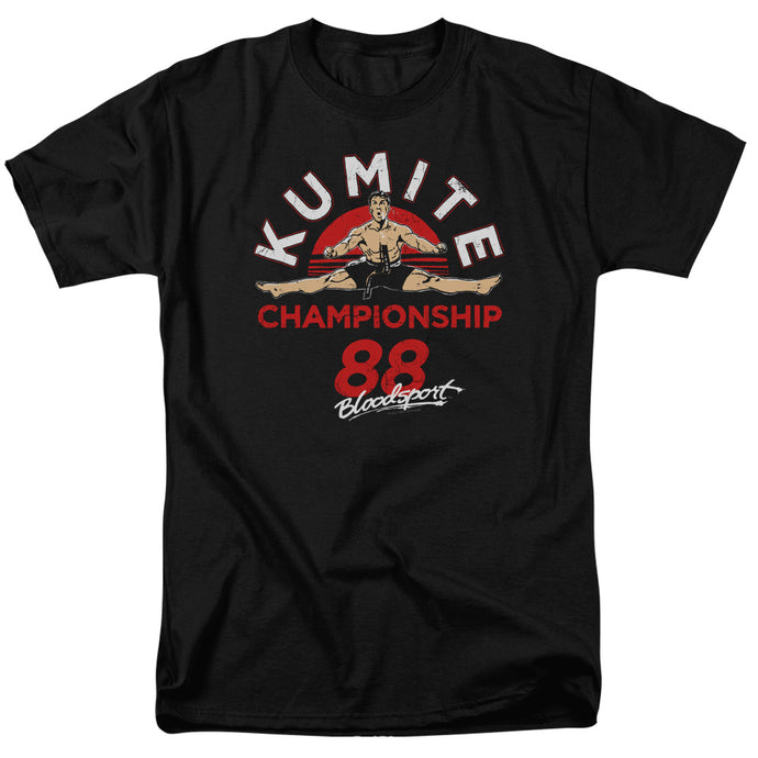 Bloodsport - Championship 88 Short Sleeve Adult 18/1 Tee - Special Holiday Gift