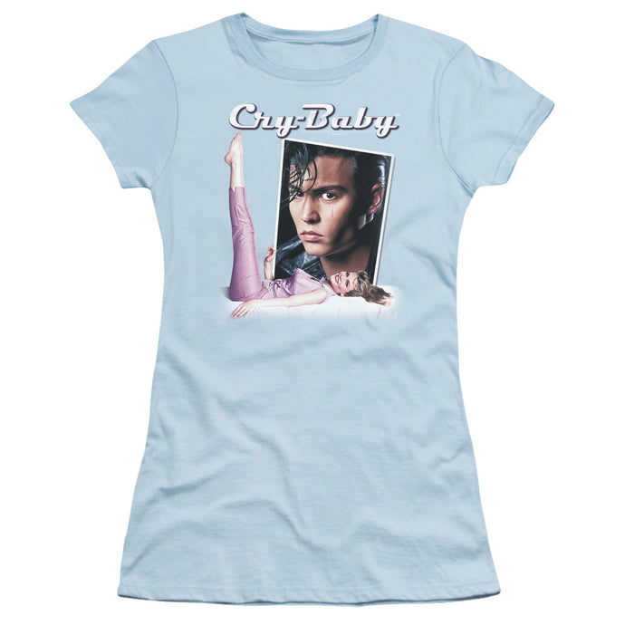 Cry Baby - Title Short Sleeve Junior Sheer - Special Holiday Gift