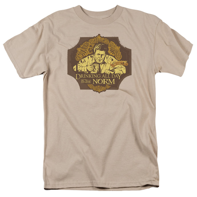 Cheers - The Norm Short Sleeve Adult 18/1 Tee - Special Holiday Gift