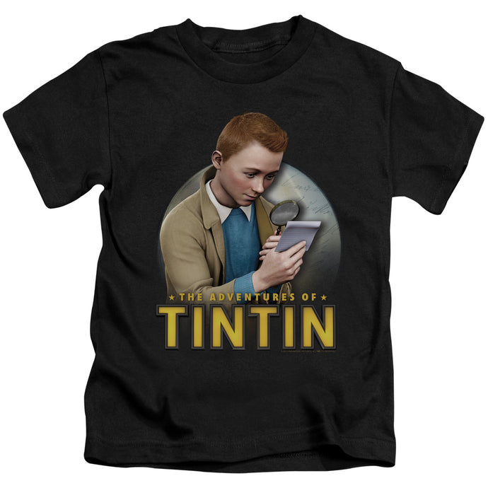 Tintin - Looking For Answers Short Sleeve Juvenile 18/1 Tee - Special Holiday Gift