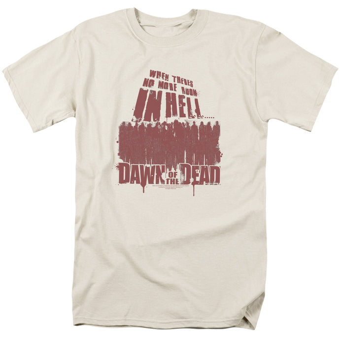 Dawn Of The Dead - No More Room Short Sleeve Adult 18/1 Tee - Special Holiday Gift