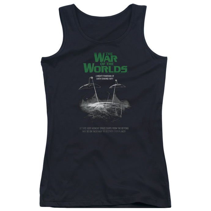 War Of The Worlds - Attack Poster Juniors Tank Top - Special Holiday Gift