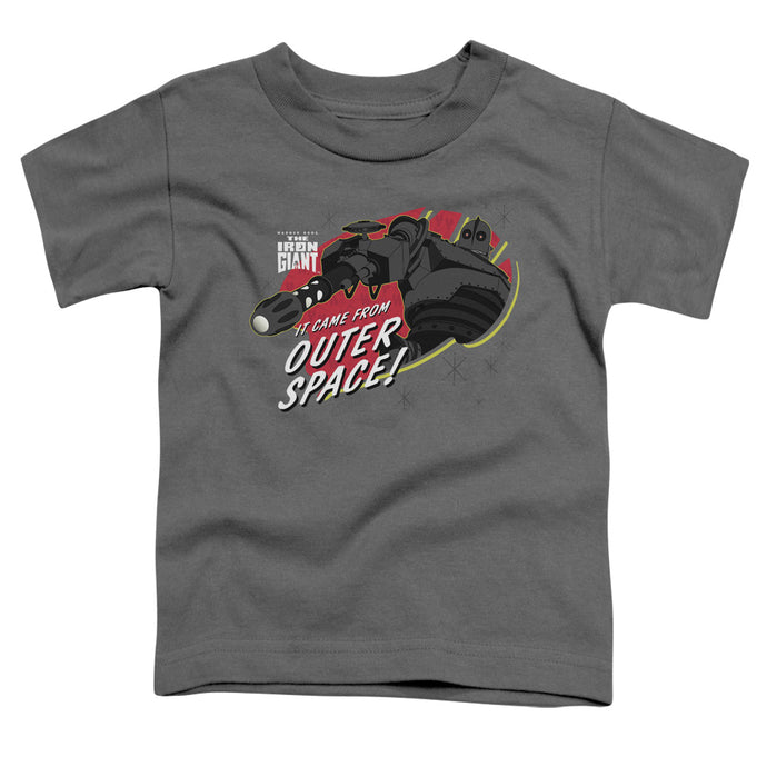 Iron Giant - Outer Space Short Sleeve Toddler Tee - Special Holiday Gift