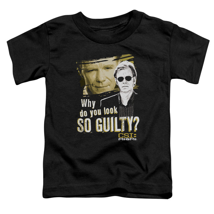 Csi Miami - So Guilty Short Sleeve Toddler Tee - Special Holiday Gift