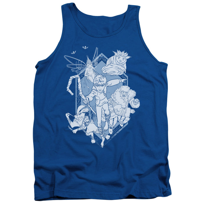 Rise Of The Guardians - Coming For You Adult Tank - Special Holiday Gift