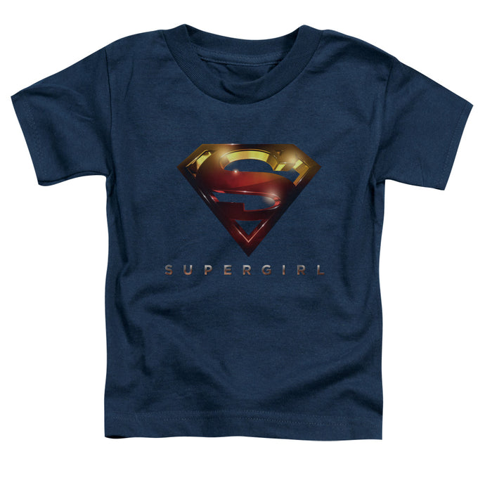 Supergirl - Logo Glare Short Sleeve Toddler Tee - Special Holiday Gift