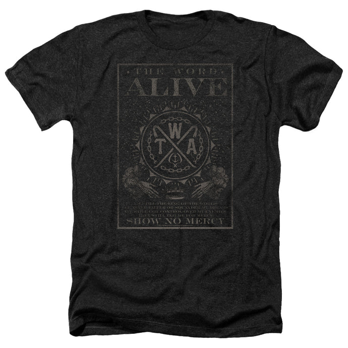 The Word Alive - Show No Mercy Adult Heather - Special Holiday Gift