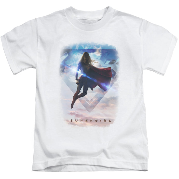 Supergirl - Endless Sky Short Sleeve Juvenile 18/1 Tee - Special Holiday Gift