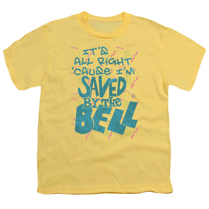 Saved By The Bell - Saved Short Sleeve Youth 18/1 Tee - Special Holiday Gift