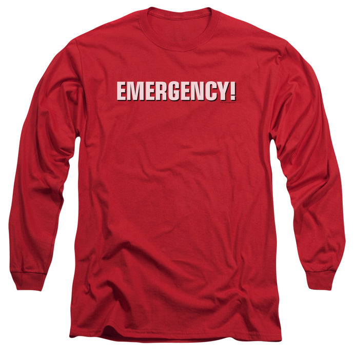 Emergency - Logo Long Sleeve Adult 18/1 Tee - Special Holiday Gift