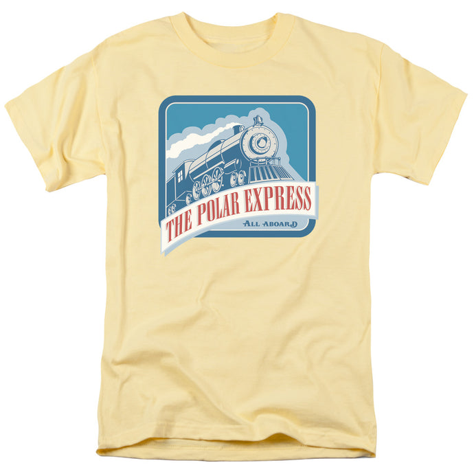 Polar Express - All Aboard Short Sleeve Adult 18/1 Tee - Special Holiday Gift