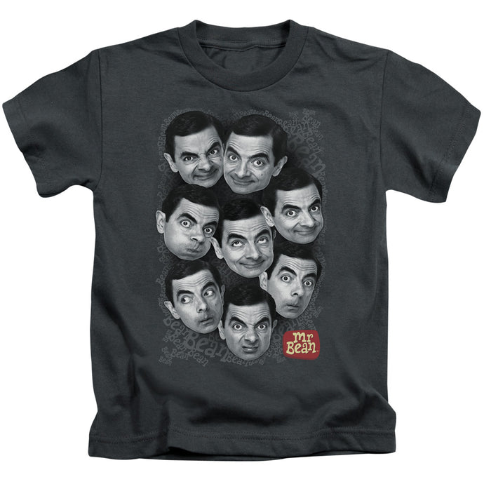 Mr Bean - Heads Short Sleeve Juvenile 18/1 Tee - Special Holiday Gift