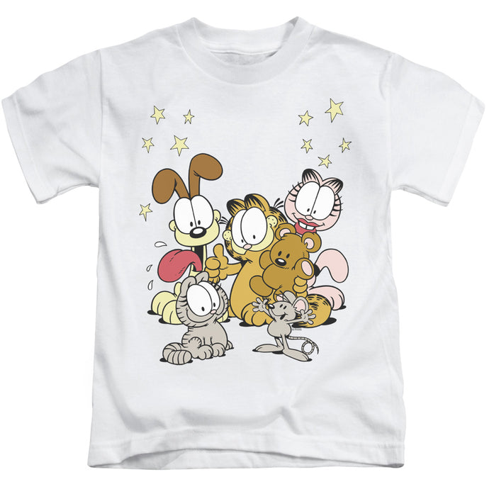 Garfield - Friends Are Best Short Sleeve Juvenile 18/1 Tee - Special Holiday Gift