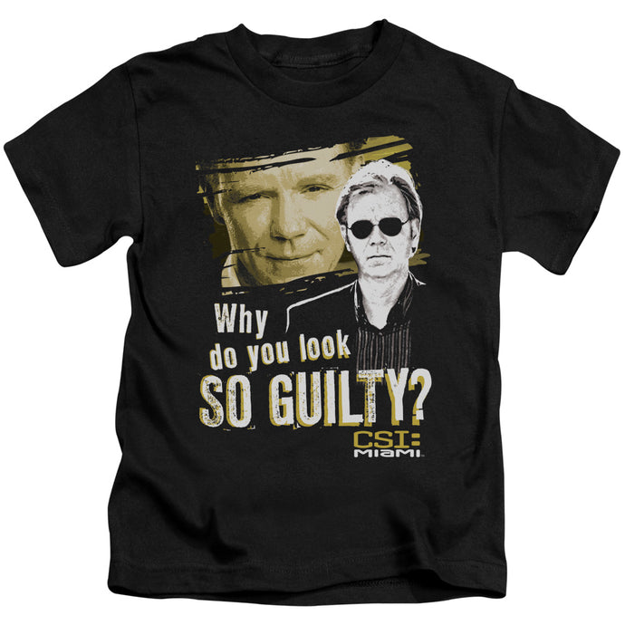 Csi Miami - So Guilty Short Sleeve Juvenile 18/1 Tee - Special Holiday Gift