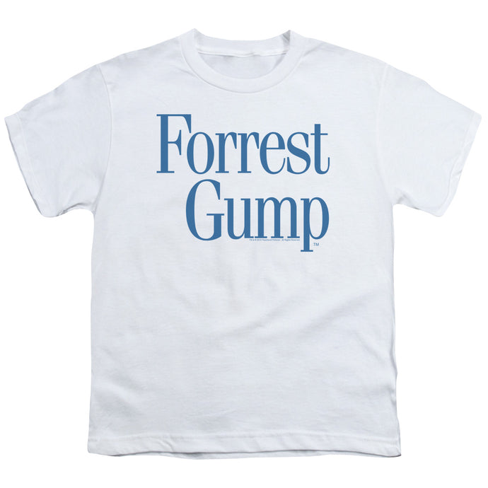 Forrest Gump - Logo Short Sleeve Youth 18/1 Tee - Special Holiday Gift