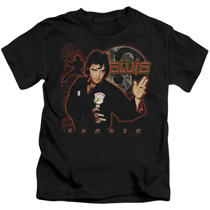 Elvis - Karate Short Sleeve Juvenile 18/1 Tee - Special Holiday Gift