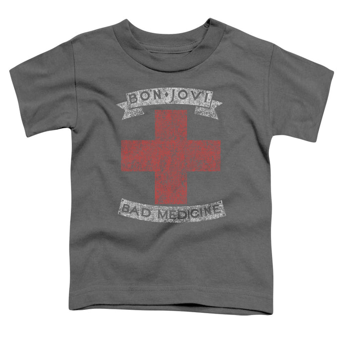 Bon Jovi - Bad Medicine Short Sleeve Toddler Tee - Special Holiday Gift