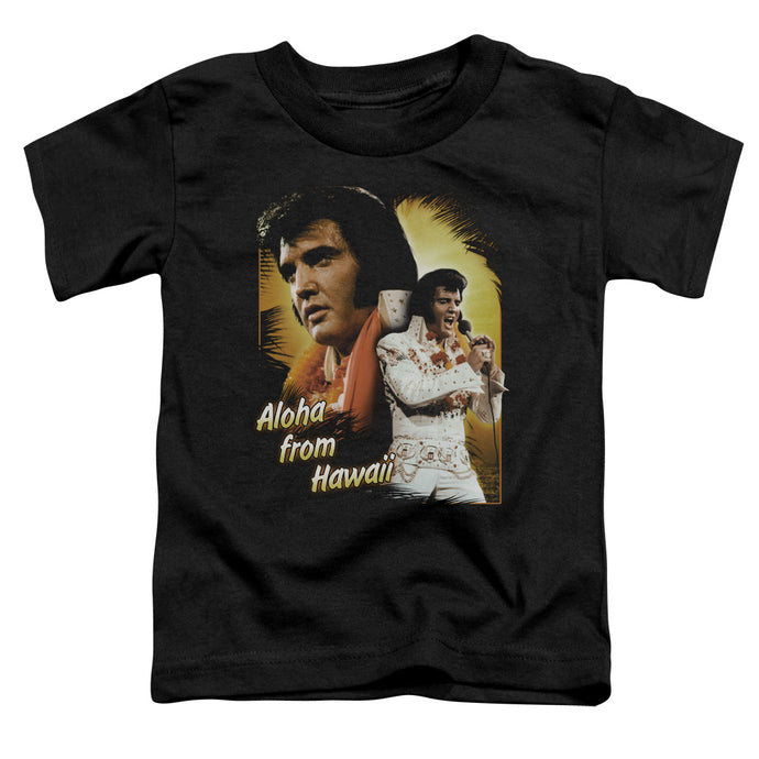 Elvis - Aloha Short Sleeve Toddler Tee - Special Holiday Gift