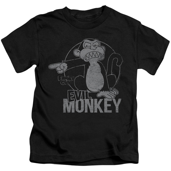 Family Guy - Evil Monkey Short Sleeve Juvenile 18/1 Tee - Special Holiday Gift